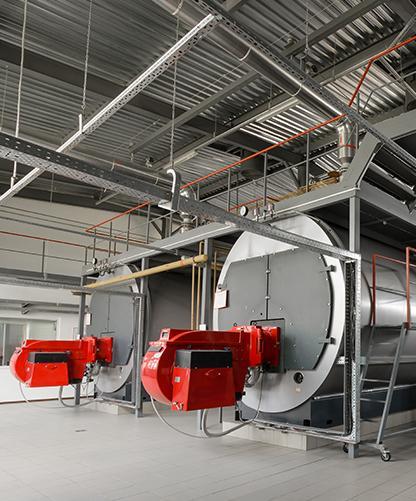 câblage industrielle chaudière