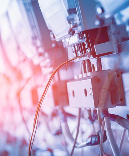 câblage électrique industrie